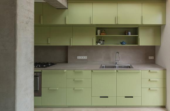 Groen Voor Keuken : Groene Keuken